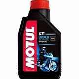 4 Motul 3000 20w50 Moto 4t Mineral 1lt