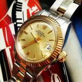 Reloj Rolex Dama Combinado 1980 Excelente Estado **glamdvt**