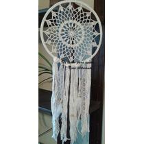Atrapasueños. Mandalas Crochet. 25 Cm