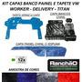 Capa Chinil Banco Painel E Tapete Verniz S/ Capo Caminhão Vw