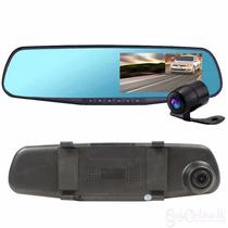 Espejo Retrovisor Dvr 1080 Camara De Seguridad Y Reversa