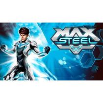 Kit Imprimible Max Steel Diseñá Tarjetas Cumple Invitacion