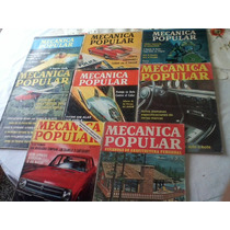 Antiguas Revistas Mecanica Popular Años 60-70 Lote X 8 Difer