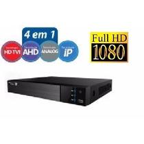 Dvr Stand Alone Flex Tecvoz Tw-p3004 08 Canais 1080p Hd