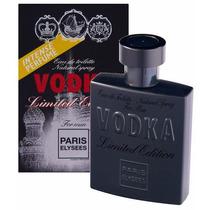 Perfume Vodka Limited 100ml Paris Elysees - Nina Presentes