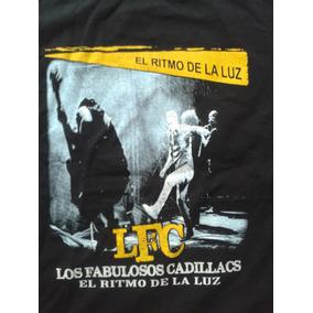 Playera Los Fabulosos Cadillacs Concierto 100% Nueva 2 Estam