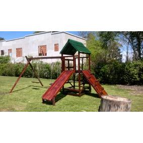 Juego Resbalin Para Jardin Infantil - Casas para Niños de Madera en ...