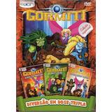 Gormiti - Diversão Em Dose Tripla - Box Com 3 Dvds