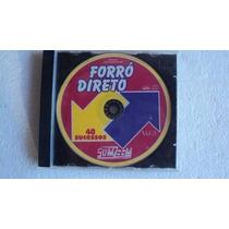 Cd Original - Forro Direto Vol. 3 - 40 Sucessos