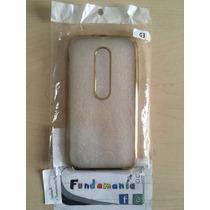 Funda Cover Electroplated Motorola Moto G3 - Fotos Reales!