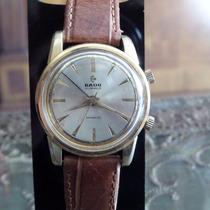 Reloj Rado Alarm 21 Joyas De Cuerda Oro/ Acero De Coleccion