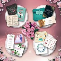 Invitaciones Tarjeta Ilustracion + Sobre | Casamiento Boda
