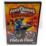 Dvd Power Rangers Tempestade Ninja Volta Do Trovão -original