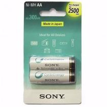 Pila Recargable Sony Aa 2500 Mah Blister X2u
