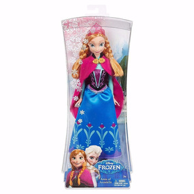Boneca Princesa Anna Frozen Original Disney Mattel Barbie