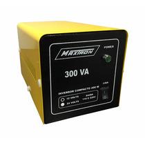 Inversor De Tensão 300va - 12 Ou 24 Volts P/ 110/220 Volts