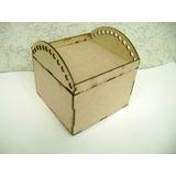 10 Baú Porta Lapis Bauzinho Mdf Laser Lembrancinha