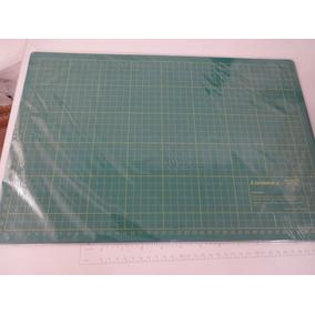 Base De Corte Placa Patchwork Scrapbook 45x30x3 Dupla Face