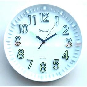 Relógio De Sala,quarto E Cozinha Fluorescente Decorativo