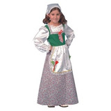 Disfraz Para Niña Traje Niña Deluxe Set Holandesa Por Dress