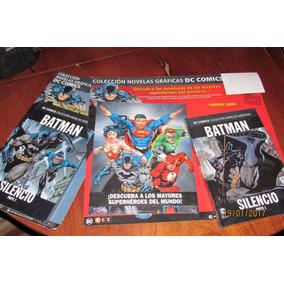 Libro Batman Silencio 1 Y2 Dc Comics Salvat
