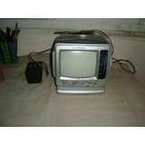 Tv Portatil 5,5 Pulgadas Con Radio B/n