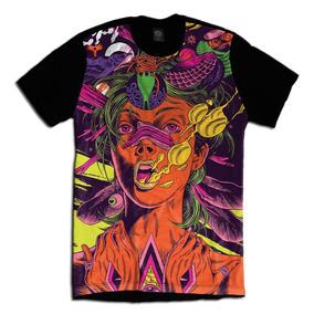 Acid Psicodelica Camiseta Personalizada Face Rosto Swag