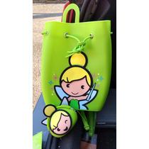 Bolsa / Backpack - Campanita / Tinkerbell Plastica