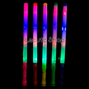 10 Barras Luminosas Led Varitas Espadas Luz Fiesta Neon