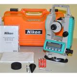 Teodolito Trimble Nikon Ne101 10seg 30x, Tripode + Mira 5m
