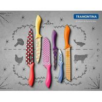 Set De Cuchillos Tramontina Colorcut
