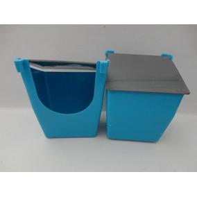 Comederos De Plastico Con Protector De Alimento