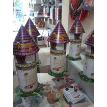 Cajitas Golosineras Torre De Rapunzel X 25 Uds