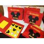 Kit Jogo Da Velha Mickey / Minnie /maleta 15 Unidades