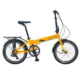 Bicicleta Dobrável Portátil Leve 7 Velocidades Bay Pro