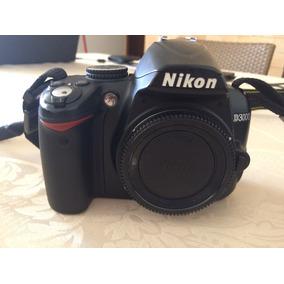 Câmera Fotográfica Nikon D3000 + 2 Lentes