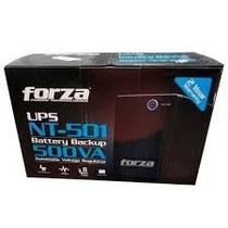 Ups Regulador De Voltaje Forza 500va Nt-501