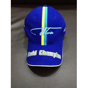 Gorra Original 100% De Fernando Alonso Campeón Del Mundo Mun