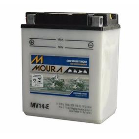 Bateria Cbx 750 Moura Moto Honda Sete Galo Mv14-e