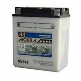 Bateria Moto Cbx 750 Moura Honda Sete Galo Mv14-e