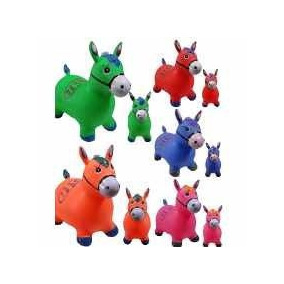 Cavalinho Upa Upa, Brinquedo Cavalo Pula Pula Inflavel