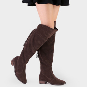 Bota Beira Rio 9045.104 Over The Knee Montaria Inverno 2017