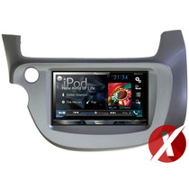 Central Multimídia Honda Fit 2010 Pioneer Avh-x5780tv Tv Dvd