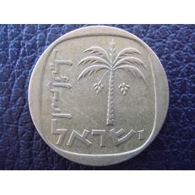 Israel - Moneda De 10 Agorot, Año 1960/77 - Muy Bueno