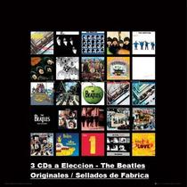 Lote 3 Cds A Eleccion - The Beatles - Originales Envio X Oca