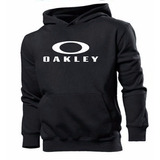 Blusa Moleton Oakley 100% Algodão Customizada