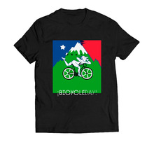 Camisa Camiseta Bicycleday T-shirt Rave Doce Vibe Bala