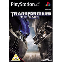 Transformers The Game Ps2 Play 2 Patch Frete R$5,00