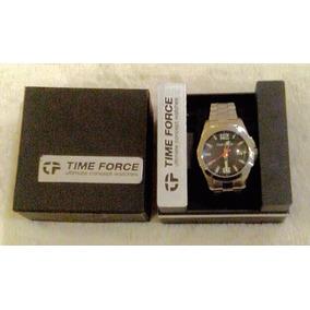 Reloj Time Force A La Moda Acero Inoxidable