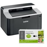 Impresora Laser Brother Hl-1212w Wifi 1 Orig + 3 Toner Extra